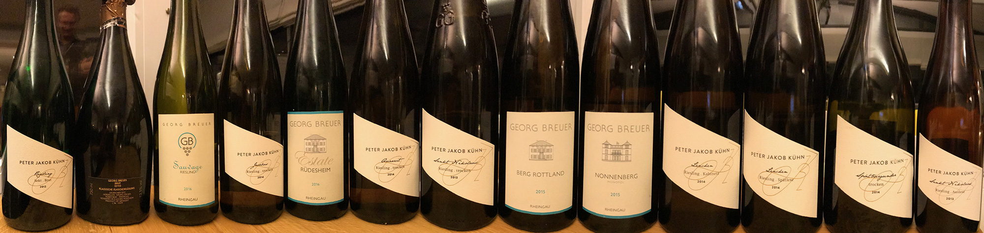Les Vins Allemands : Commentaires de dégustation