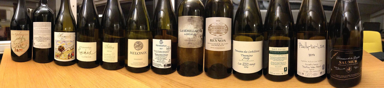 Vins blancs secs insolites : commentaires de dégustation